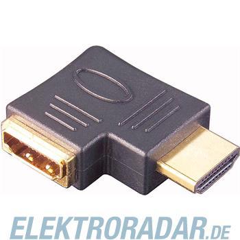 E+P Elektrik HDMI Winkel-Adapter HDMI 9 U