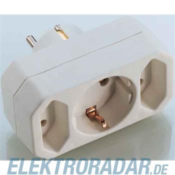 E+P Elektrik Dreifach-Kombistecker EA 9