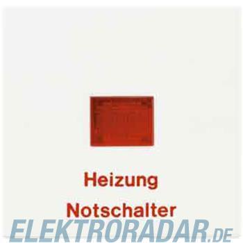 Jung Wippe Aufs.Heizung/Notsch. LS 990 H SW