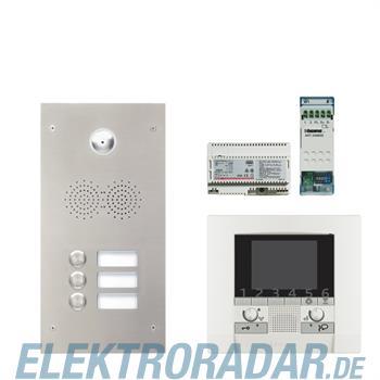 Legrand 904250 Sprechanlagenpaket mit Edelstahl-Videotürstation 2