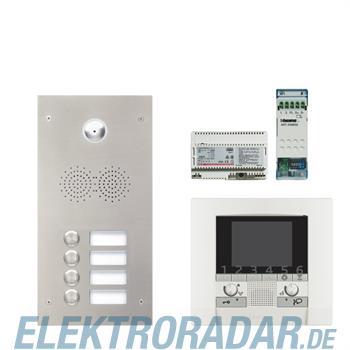 Legrand 904251 Sprechanlagenpaket mit Edelstahl-Videotürstation 2
