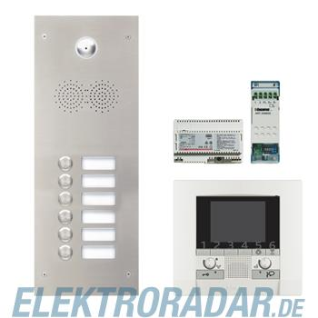 Legrand 904253 Sprechanlagenpaket mit Edelstahl-Videotürstation 2