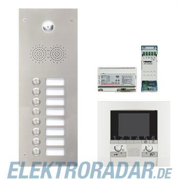 Legrand 904255 Sprechanlagenpaket mit Edelstahl-Videotürstation 2