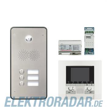 Legrand 904266 Sprechanlagenpaket mit Edelstahl-Videotürstation 2