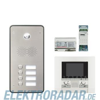 Legrand 904267 Sprechanlagenpaket mit Edelstahl-Videotürstation 2