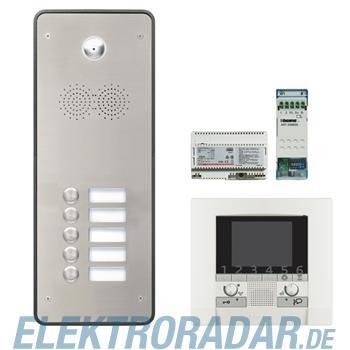 Legrand 904268 Sprechanlagenpaket mit Edelstahl-Videotürstation 2