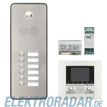 Legrand 904269 Sprechanlagenpaket mit Edelstahl-Videotürstation 2