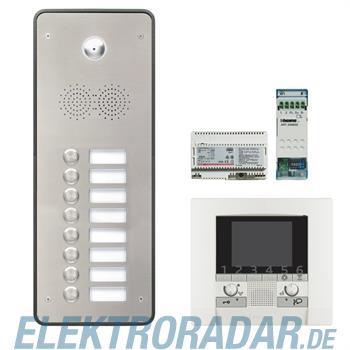 Legrand 904271 Sprechanlagenpaket mit Edelstahl-Videotürstation 2