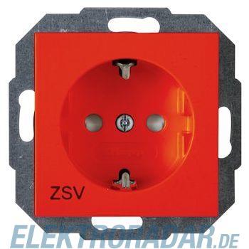 Kopp 9400.2200.1 Schutzkontakt-Steckdose  mit Kinderschutz, HK07, ZSV orange