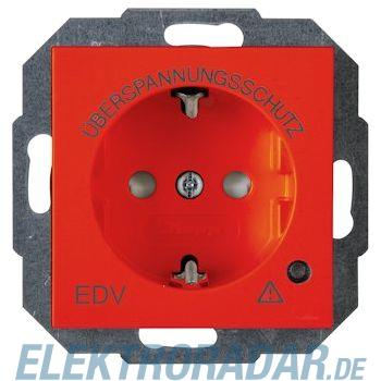 Kopp 9514.2900.8 Schutzkontakt-Steckdose mit Geräteschutz-Überspannungsfilter, HK07,  rot