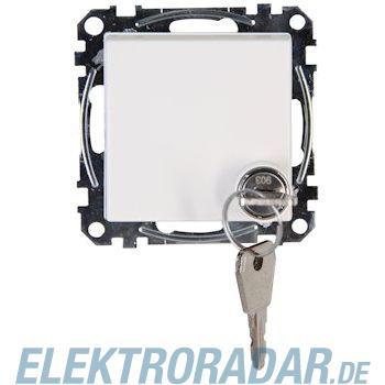 Kopp 9515.2900.1 , Kopp Schutzkontakt-Steckdose m. Klappdeckel abschließbar, HK07, reinweiß