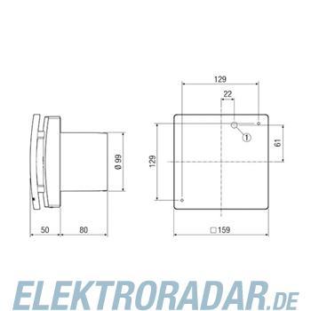 Maico Kleinraumventilator ECA 100 ipro K