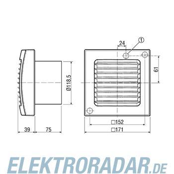 Maico Ventilator,Lichtsteuerung ECA 120 F