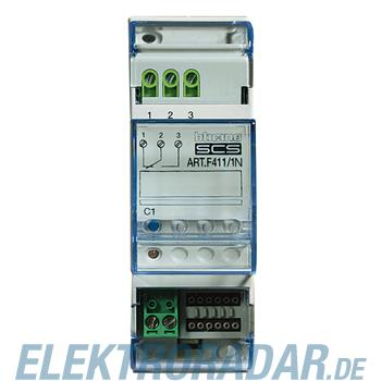 Legrand F411/1N Reiheneinbauaktor 1-fach mit 1 Wechselkontakt, Kon