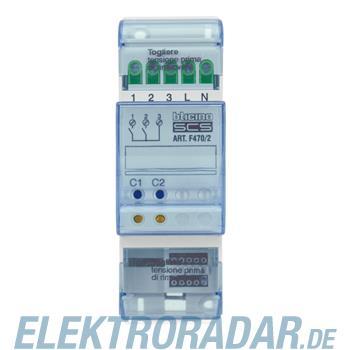 Legrand F470/2 Funk-Aktor 2-fach (Licht oder Rollladen)Versorgung