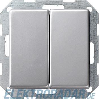Gira Tast-Serienschalter alu 0125203