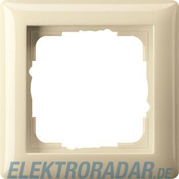 Gira Abdeckrahmen 1f. cremeweiß-glänzend 021101