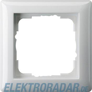 Gira Abdeckrahmen 1f. reinweiß-glänzend 021103
