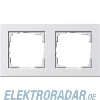 Produktbild Gira Abdeckrahmen 2f. reinweiß 021222 Artikelnummer 10054823 | Elektroradar.de