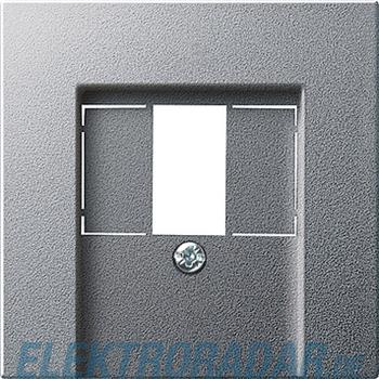 Gira Zentralplatte TAE alu 027626