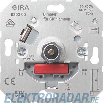 Gira Dimmer-Einsatz 030200