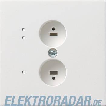 Gira Stereo-Steckdose rws/gl 0402112