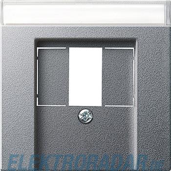 Gira Zentralplatte TAE alu 087626