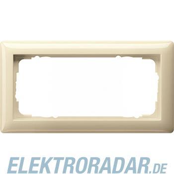 Gira Rahmen 2f.cremeweiß-glänzend 100201