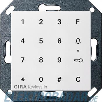 Gira Code Tastatur rws-gl 260503