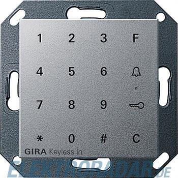 Gira Code Tastatur alu 260526