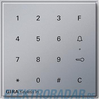 Gira Code Tastatur alu 260565