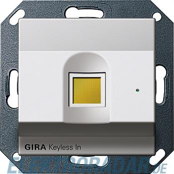 Gira Fingerprint alu 2607203