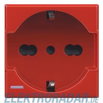 Legrand H4140/16R Steckdose italienisch 2-polig+E 10/16A 250V AC, Sc