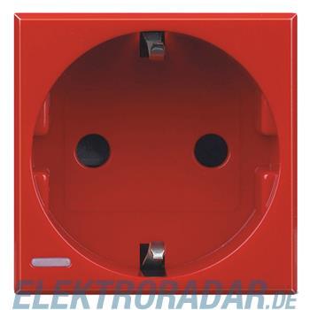 Legrand H4141R Steckdose mit Schraubklemmen (SK), Kinderschutz, 1
