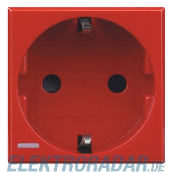 Legrand H4141RW Steckdose mit Steckklemmen (SL), Kinderschutz, 16A
