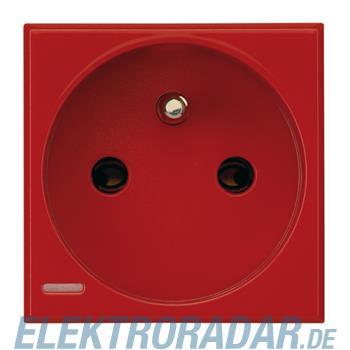 Legrand H4142R Steckdose französischer Standard, 10/16A2-modulig