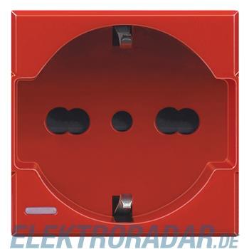 Legrand H4180RW Steckdose 2-polig+E 10/16A 250V AC, Kinderschutz,