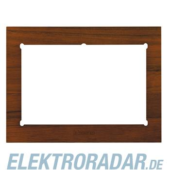 Legrand HA4690LTK Rahmen für Multimedia-Touchscreen Teak