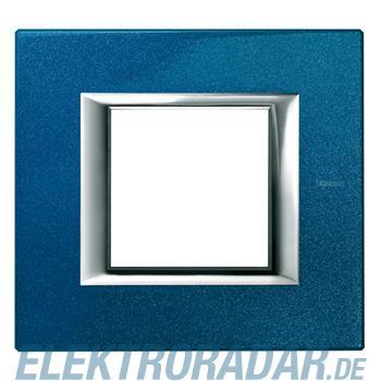Legrand HA4802BM Rahmen rechteckig 2 Module Meissenblau