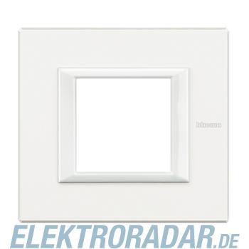 Legrand HA4802HD Rahmen rechteckig 2 Module White Aluminium