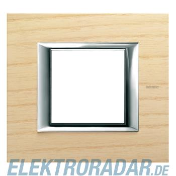 Legrand HA4802LFR Rahmen rechteckig 2 Module Echtholz Esche