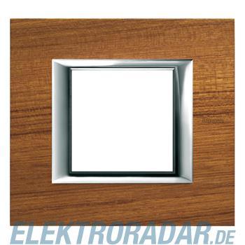 Legrand HA4802LTK Rahmen rechteckig 2 Module Echtholz Teak
