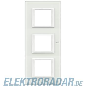 Legrand HA4802M3VBB Rahmen rechteckig 3x2 Module White Glass