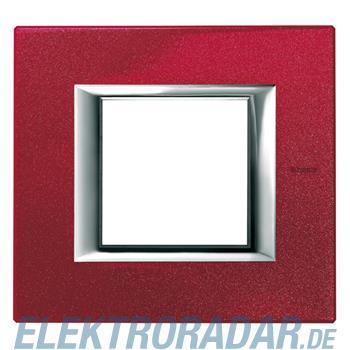 Legrand HA4802RC Rahmen rechteckig 2 Module Chinarot