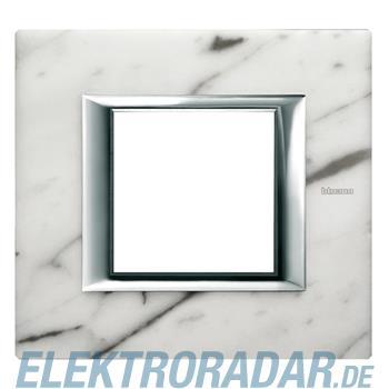 Legrand HA4802RMC Rahmen rechteckig 2 Module Carrara Marmor