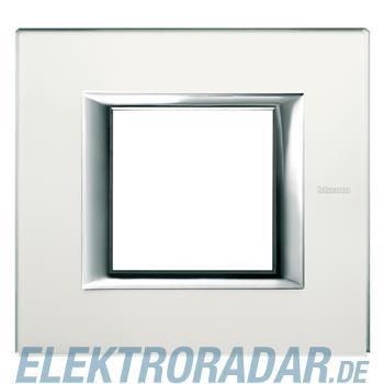 Legrand HA4802VSA Rahmen rechteckig 2 Module Glas Spiegelnd