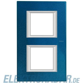 Legrand HA4802/2BM Rahmen rechteckig 2x2 Module Meissenblau