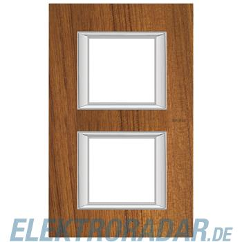 Legrand HA4802/2LTK Rahmen rechteckig 2x2 Module Echtholz Teak