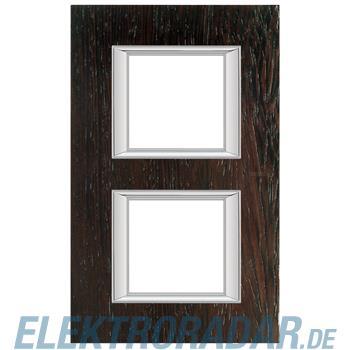 Legrand HA4802/2LWE Rahmen rechteckig 2x2 Module Echtholz Wenge