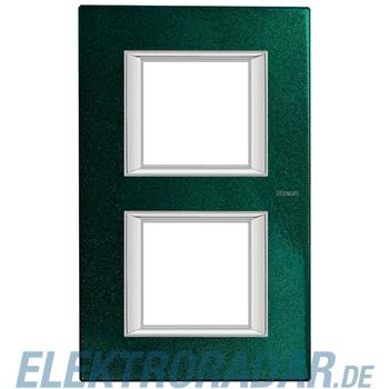 Legrand HA4802/2VS Rahmen rechteckig 2x2 Module Sevresgrün